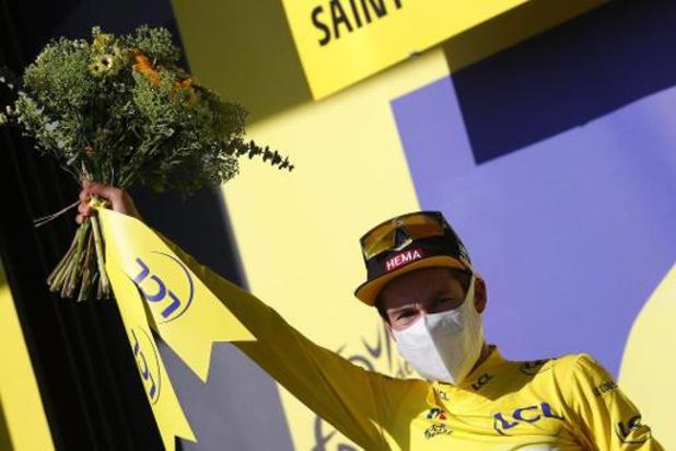 """Tour de France - Roglic :""""mon maillot jaune est celui de toute l'équipe"""""""