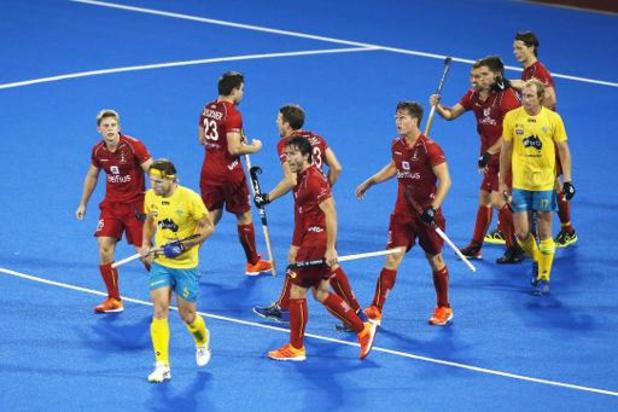 Hockey Pro League - Les Red Lions dominent l'Australie (2-4) dimanche et redeviennent numéro 1 au monde