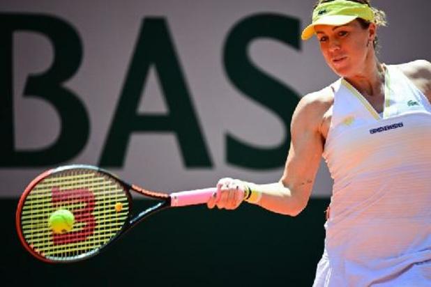 Pavlyuchenkova is eerste finaliste