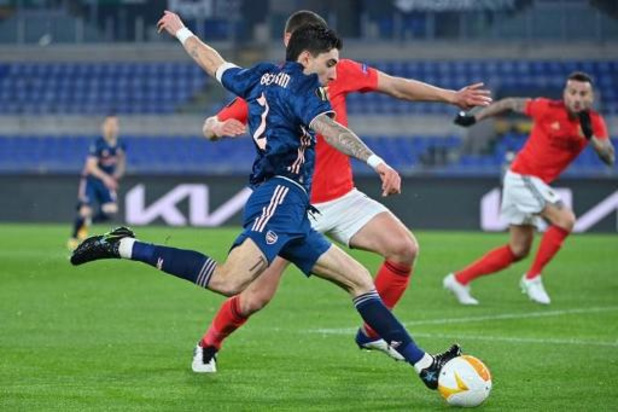 Europa League - Vertonghen et Benfica partagent face à Arsenal, Naples battu à Grenade