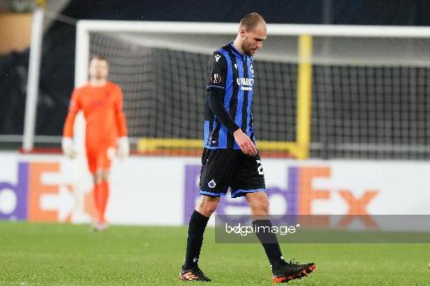 Bas Dost hervat training bij Club Brugge