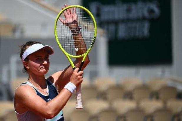 Barbora Krejcikova dompte la jeune Cori Gauff pour filer en demi-finale