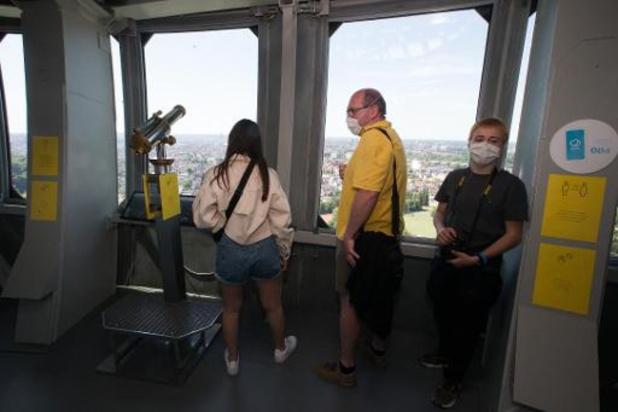 L'Atomium rouvre ses portes au public avec une visite sécurisée