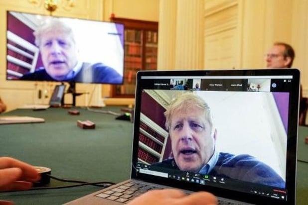 La fièvre du Premier ministre britannique Boris Johnson a baissé