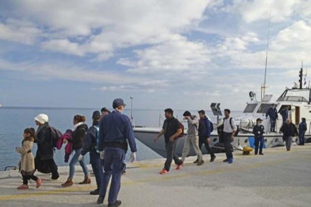 Griekse kustwacht redt 70-tal migranten voor kust Kreta