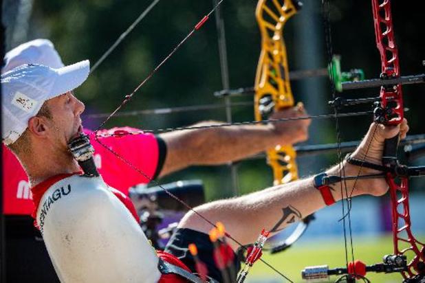 Jeux Paralympiques - Tir à l'arc: Piotr Van Montagu en 8e de finale en compound