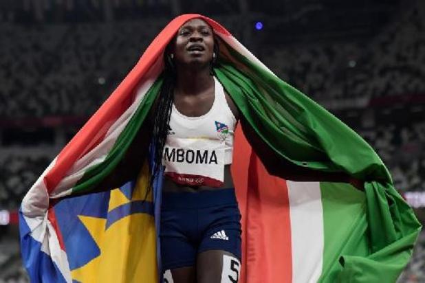 Memorial Van Damme - Christine Mboma snelt naar zege op 200m