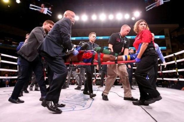 """Le super-welter américain Patrick Day dans un état """"extrêmement critique"""" après un KO"""