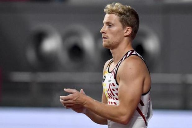 """WK atletiek - Ben Broeders is erg gelukkig na kwalificatie voor finale: """"Mijn WK is nu al geslaagd"""""""