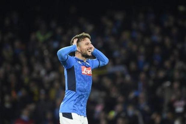 Dries Mertens staat dicht bij contractverlenging bij Napoli