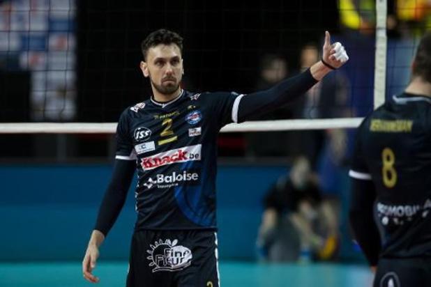 Euromillions Volley League - Kapitein Hendrik Tuerlinckx blijft jaar langer bij Roeselare