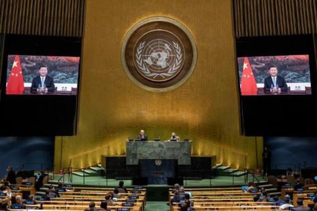 Le président Xi défend les ambitions de la Chine devant l'ONU