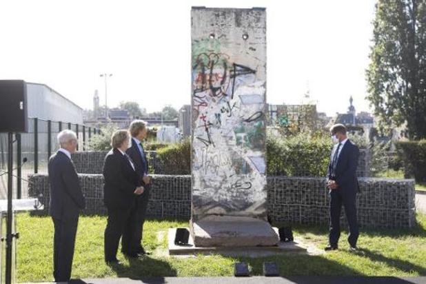 Elia haalt stuk Berlijnse Muur naar Brussel