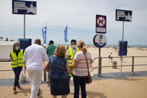 Les plages les plus courues d'Ostende enregistrent déjà 12.500 réservations