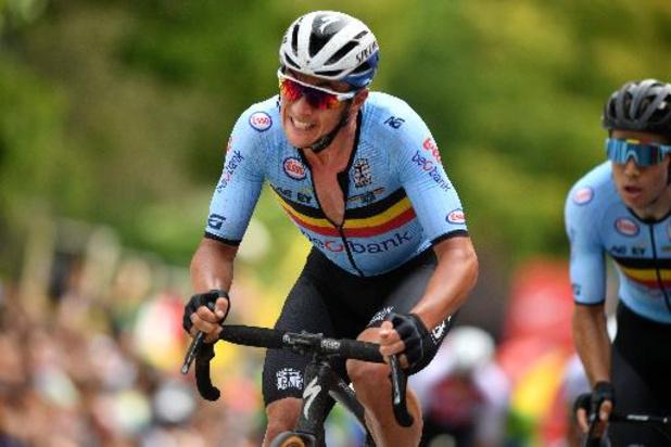 "WK wielrennen - Yves Lampaert: ""Sterke teamprestatie, maar jammer genoeg geen medaille"""