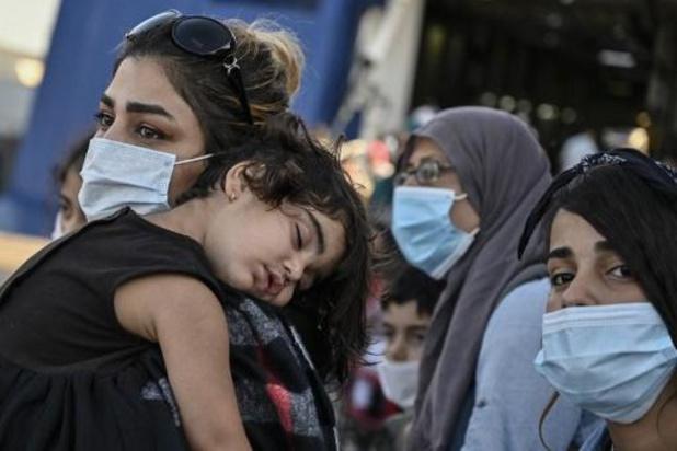Athènes se dote d'un camp temporaire pour accueillir les réfugiés à la rue