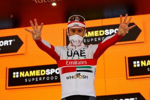 Le cycliste Diego Ulissi interrompt temporairement sa carrière en raison d'une myocardite