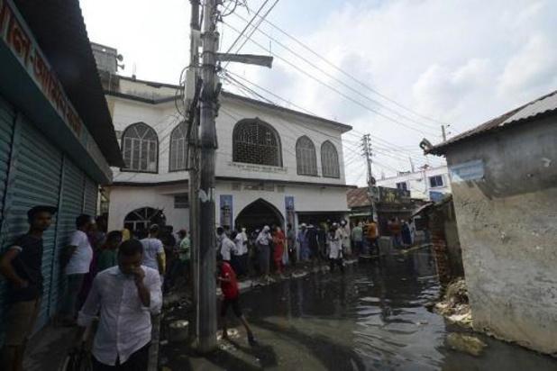 Explosion dans une mosquée au Bangladesh: 24 morts, selon un nouveau bilan