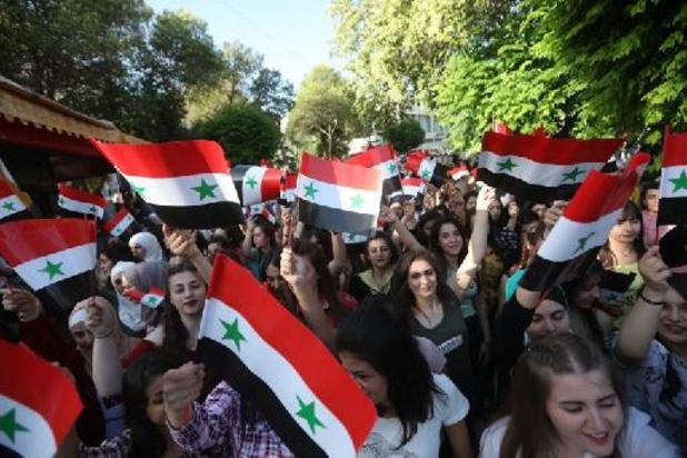 Stembussen in Syrië zijn geopend