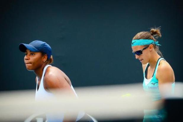 Open d'Australie - Kirsten Flipkens éliminée en double au 2e tour