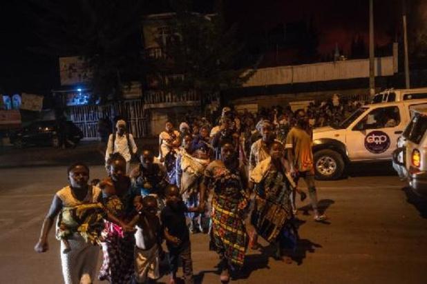 Eruption dans l'est de la RDC: ordre d'évacuation de la ville de Goma