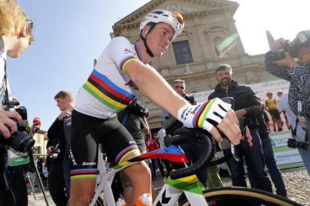 Wereldkampioen Mads Pedersen blijft tot eind 2022 bij Trek-Segafredo