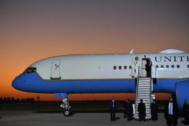 """Trump bood Kim Jong-un lift aan in Air Force One"""