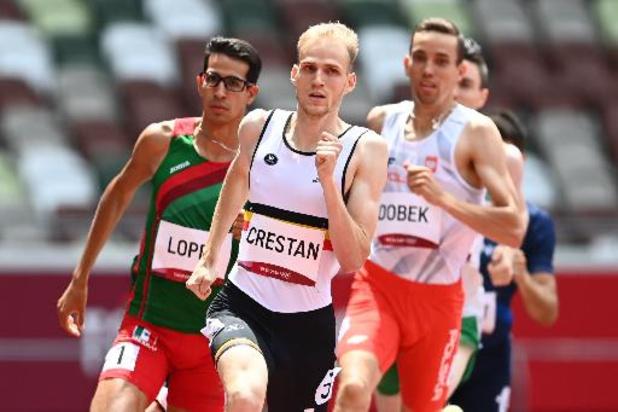 JO 2020 - Eliott Crestan, qualifié pour les demi-finales du 800 m malgré une nuit blanche