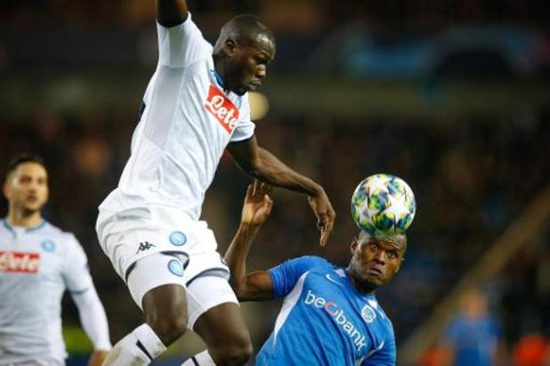 Strijdend Racing Genk knokt zich naar verdiend gelijkspel tegen Napoli