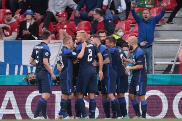 EK 2020 - Finland wint in Denemarken, malaise Eriksen overschaduwt duel