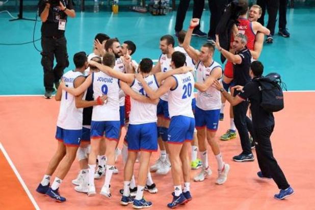 EK volley (m) - Servië pakt derde Europese titel
