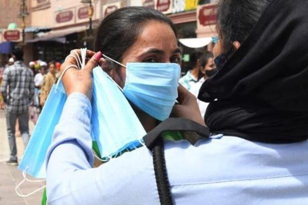 Recordaantal nieuwe besmettingen in India: 200.000