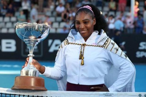 Serena Williams de retour avec les Etats-Unis en barrage contre la Lettonie
