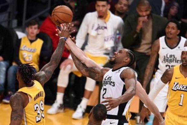 NBA - Les Clippers et les Raptors finissent bien la saison régulière