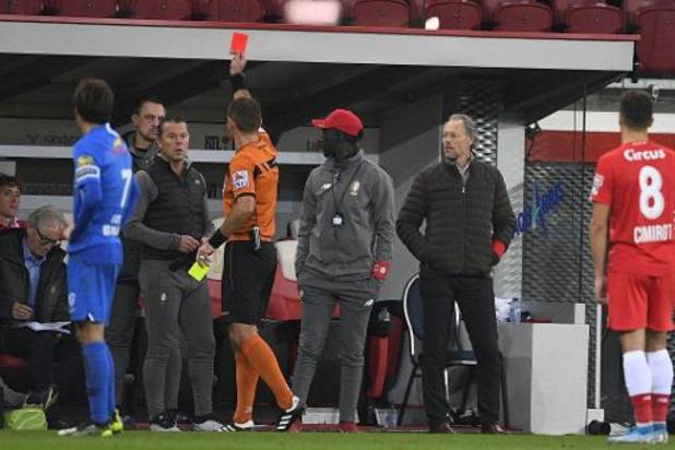 Eén speeldag schorsing dreigt voor assistent-coach Deflandre