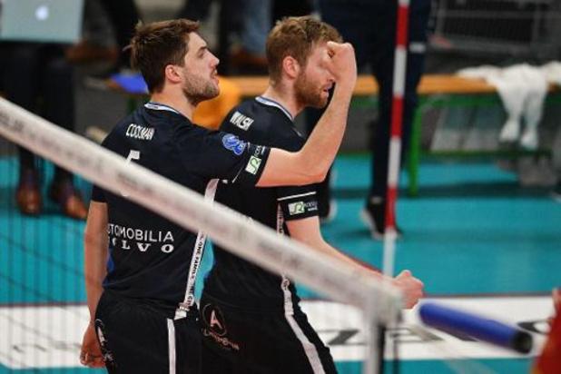 Euromillions Volley League - Roulers conserve la tête après sa victoire à Achel