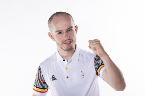 Tim Celen snelt naar brons in tijdrit op Paralympische Spelen