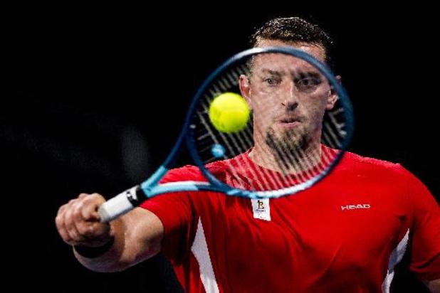 Joachim Gérard blijft voorlopig in ziekenhuis in Tokio en geeft forfait voor US Open