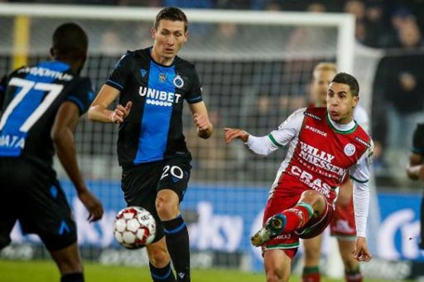 Croky Cup - Club Brugge komt in heenwedstrijd niet verder dan een gelijkspel tegen Zulte Waregem