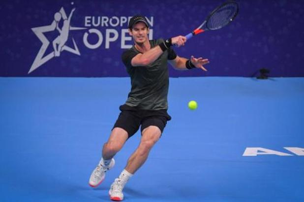 European Open: Andy Murray élimine Pablo Cuevas en deux sets à Anvers