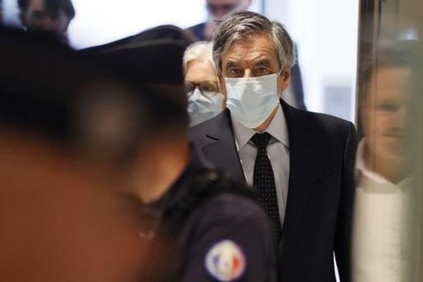 Franse ex-premier Fillon en echtgenote schuldig bevonden aan fictieve tewerkstelling