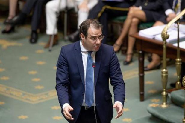 Une enveloppe contenant de la poudre blanche reçue au cabinet du ministre David Clarinval