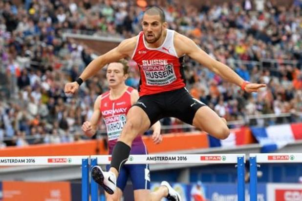Ex-champion d'Europe sur 400m haies, le Suisse Hussein contrôlé positif et privé de JO