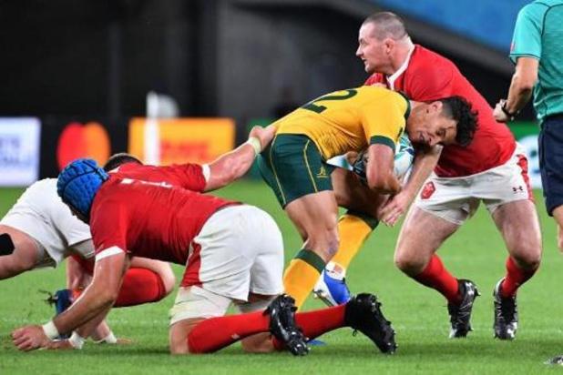 Le Pays de Galles s'impose dans le choc contre l'Australie