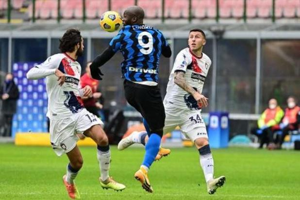 L'Inter surclasse Crotone et passe en tête, Romelu Lukaku buteur et passeur