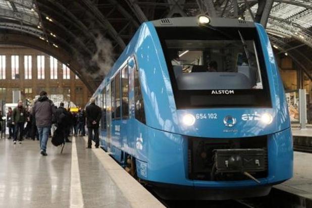 La SNCB va étudier la possibilité d'exploiter des trains à hydrogène