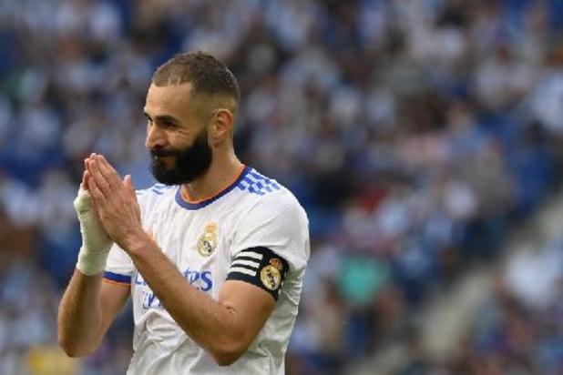 Belgen in het buitenland - Real, met Courtois en invaller Hazard, druipt af bij Espanyol na 1e competitienederlaag