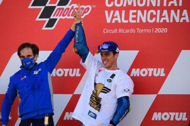 Le manager de Suzuki en MotoGP, Davide Brivio directeur de course de l'écurie Alpine