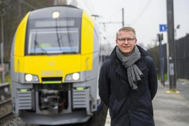 Federale begroting: Gilkinet (Ecolo) verheugd over extra spoorinvesteringen