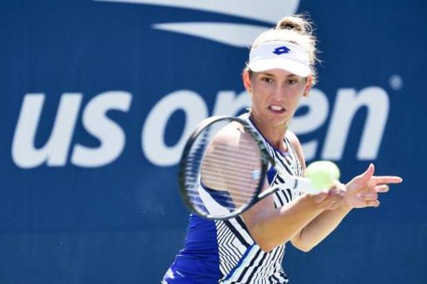 """Elise Mertens en quarts après """"un match quasi parfait"""" face à Sofia Kenin"""
